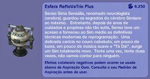 Esfera ReNoVaTrix Plus (descrição)