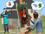 Família nas Nuvens (The Sims 2)
