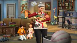 Babás Anúncio The Sims 4