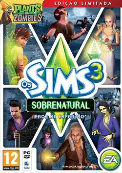 Packshot Os Sims 3 Sobrenatural