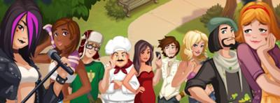 Personagens - The Sims Social