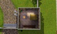 Retiro do Rockeiro, celeiro, segundo andar