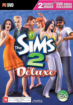 Capa The Sims 2 Deluxe