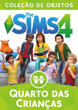 Capa The Sims 4 Quarto das Crianças (Primeira Versão)