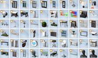 The Sims 4 - Ao Trabalho - Itens (5)
