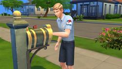Carteiro em The Sims 4