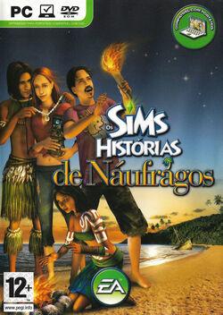 Capa Os Sims Histórias de Náufragos