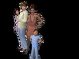 Família Cho (The Sims 3)