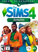 Capa The Sims 4 Estações (Primeira Versão)