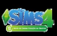 Logo The Sims 4 Noite de Cinema (Primeira Versão)