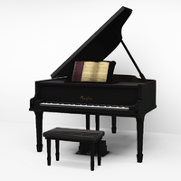 Piano de Cauda Virtuoso Schnadahupfl