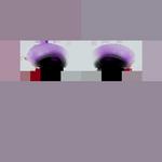 Sombra de olho da Florinda - textura