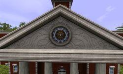 Símbolo na Prefeitura
