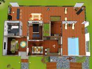 A Casa Construída pelo Amor (planta)