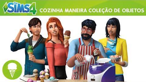 The Sims 4 Cozinha Maneira Trailer Oficial