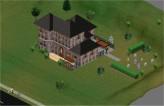 Mansão Caixão - The Sims - Ângulo 2