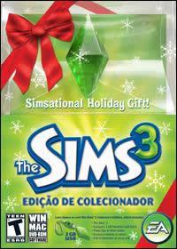 Caixa The Sims 3 Edição de Colecionador de Natal