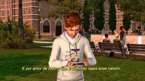 Os Sims 3 Vida Universitária Trailer Lançamento