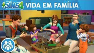 The Sims 4 Vida em Família Trailer Oficial da Jogabilidade do Vida em Família