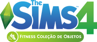 Logo The Sims 4 Fitness (Primeira Versão)