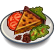 Comida Torta de Batata e Trufa