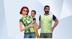Família Pancakes com Iggy