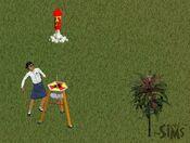 Cassandra lançando um foguete