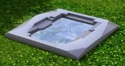 Banheira Quente Gruta de Netuno, das Indústrias Arasika