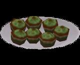 Cupcakes de Moca Mentolado