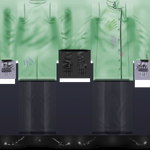 Traje Cientista Maluco Verde