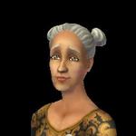 Maria Arlequino (como idosa)