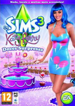 Capa Os Sims 3 Katy Perry Doces Surpresa
