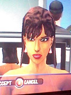 Laura Caixão (The Sims Console)