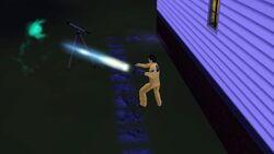 Caça-Fantasma capturando um espírito