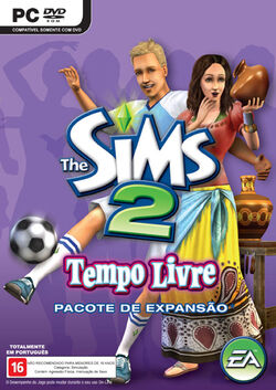 Capa The Sims 2 Tempo Livre