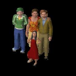 Família Solteirus (The Sims 3)