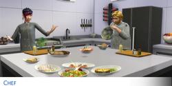 Carreira Culinária (TS4) - Chef