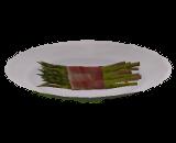 Aspargos Envoltos em Bacon Vegetal