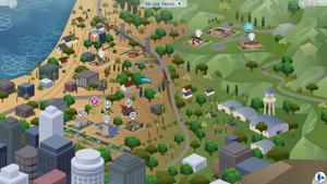 Mapa Del Sol Valley