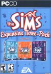 Capa The Sims Expansion Three-Pack Volume 1