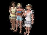 Núcleo Garotas na Praia