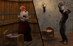 Recém-Nascido (The Sims Medieval)
