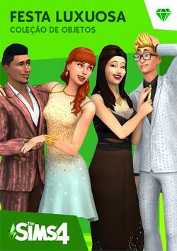 Capa The Sims 4 Festa Luxuosa