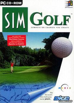 Capa do SimGolf (Em inglês)