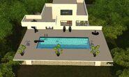Luxo Vibrante, piscina