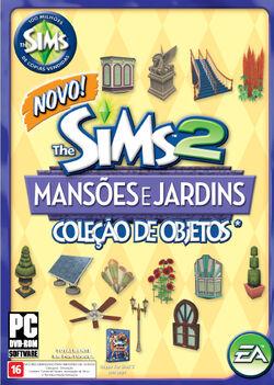 Capa The Sims 2 Mansões e Jardins