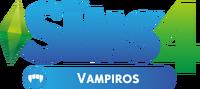 Logo The Sims 4 Vampiros (Primeira Versão)