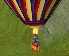 Easter Egg - Balão de ar quente
