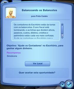 Oportunidade Balanceando os Balancetes