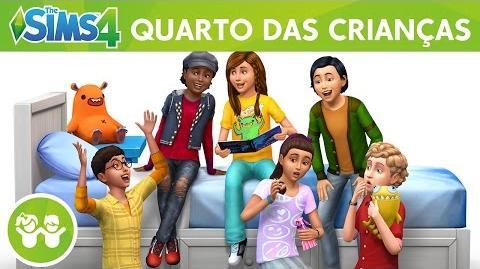 The Sims 4 Quarto das Crianças Coleção de Objetos Trailer Oficial